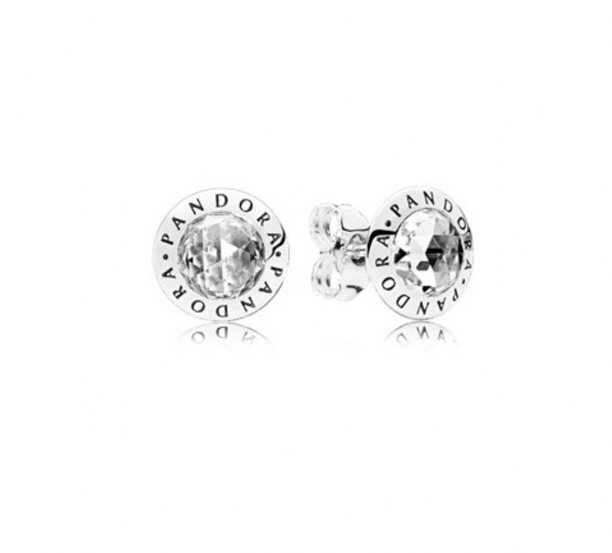 ... Stříbrné náušnice Pandora - Zářivé logo PANDORA 1 2 ... 8cc0739d17e